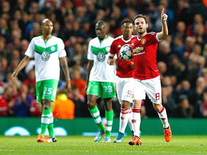 02h45, ngày 09/12, Wolfsburg - Man United: 'Quỷ đỏ' chỉ biết chờ vận đỏ?