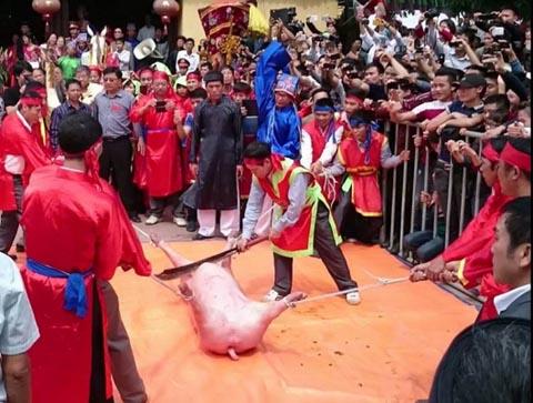 Lần đầu chấm điểm công tác tổ chức, quản lý lễ hội dân gian Việt Nam