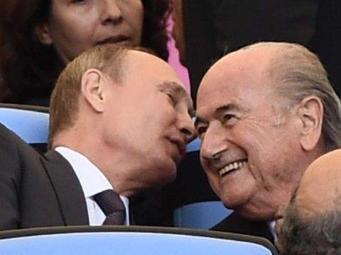 Tổng thống Nga Vladimir Putin: 'Sepp Blatter xứng đáng được trao giải Nobel hòa bình'