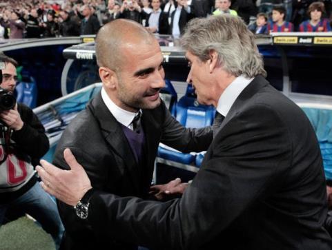 Manuel Pellegrini  bình thản chờ ngày Guardiola đến Man City