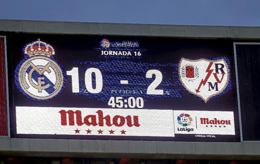 Sau 55 năm, mới có đội ghi 10 bàn một trận như Real Madrid