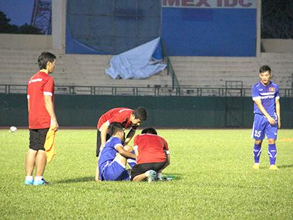 U23 Việt Nam như đi trên băng mỏng