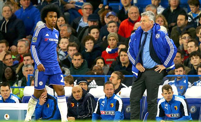 Chelsea bị Watford cầm hòa 2-2: Khó khăn còn nhiều, Hiddink!