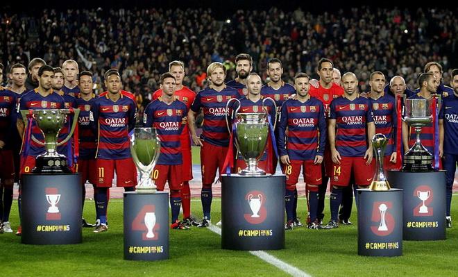 Messi: '2015 là một năm tuyệt vời, nhưng Barca sẽ cố gắng làm tốt hơn'
