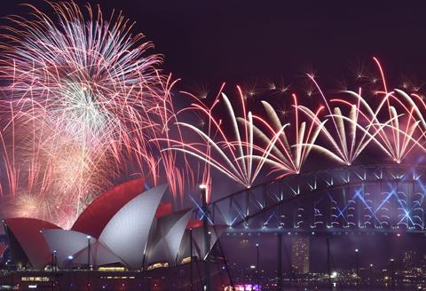 CẬP NHẬT: 'Tiệc' pháo hoa đón năm mới 2016 khắp nơi trên thế giới