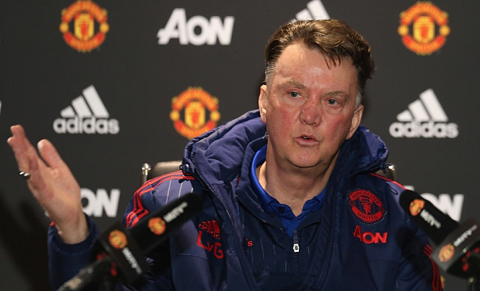 Louis van Gaal: 'Man United còn nguyên cơ hội vô địch'