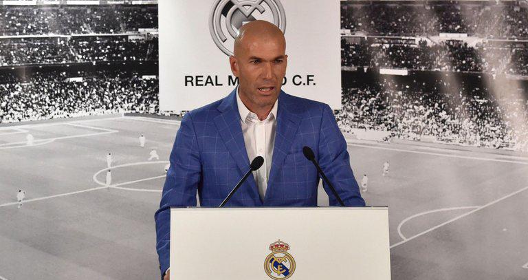Zidane: 'Hôm nay là ngày tuyệt vời. Trái tim và khối óc của tôi dành trọn cho Madrid'