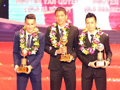 Quả bóng Vàng Việt Nam 2015: Chúc mừng Nguyễn Anh Đức!