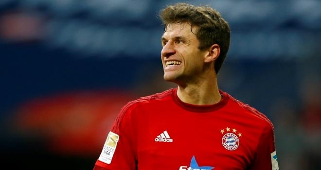 Thomas Mueller: 'Tôi không thể rời Bayern dù nước Anh luôn mời gọi'