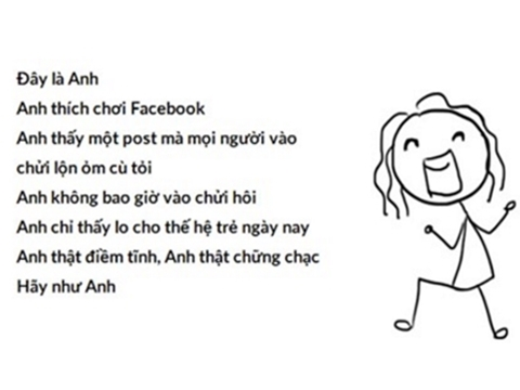 Trào lưu 'Be Like Me' - viết facebook tử tế - gây bão mạng