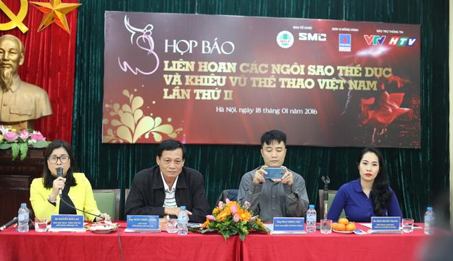 Hà Thanh dự đêm Gala khiêu vũ thể thao tại Hà Nội