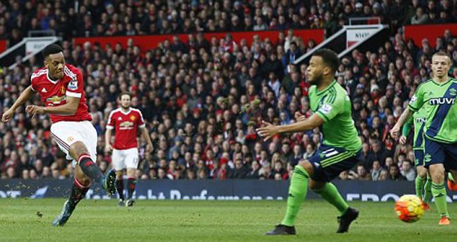 Man United 0-1 Southampton: Austin ghi bàn ngày ra mắt.