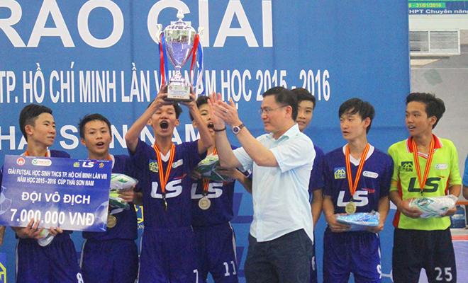 TP.HCM hái 'quả ngọt' nhờ bóng đá học đường