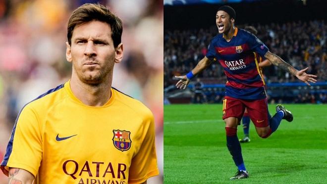 Quỹ lương của Barca đang 'è cổ' vì Messi và Neymar