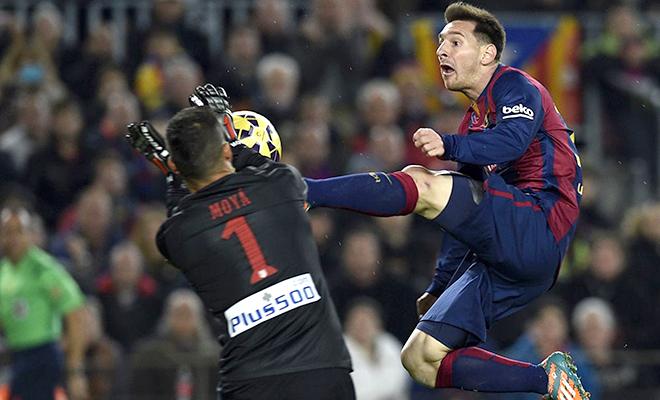 """22h00, 30/1, sân Camp Nou, Barcelona - Atletico Madrid (Lượt đi: 2-1): Lại là """"người tuyên án"""" Messi?"""