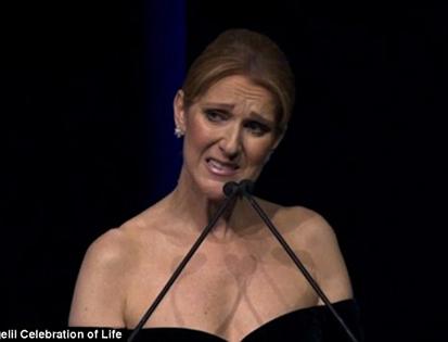 Celine Dion lần đầu nói về người chồng quá cố trong màn tưởng niệm tại Las Vegas