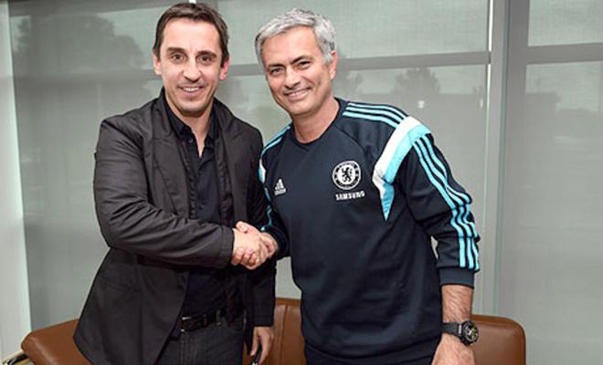 Ghế HLV ở Old Trafford: Bộ đôi Mourinho - Neville ở Man United?