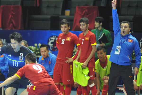 HLV đội futsal Việt Nam Bruno Formoso: 'Dự World Cup là thành tích vĩ đại của thể thao Việt Nam'