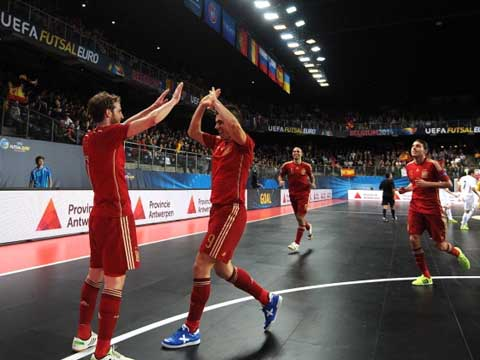 Quốc gia nào đang dẫn đầu futsal thế giới?