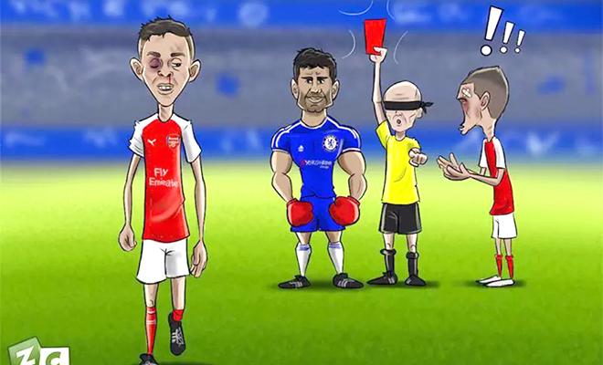 Gặp Hull City, Arsenal chỉ sợ... trọng tài Mike Dean