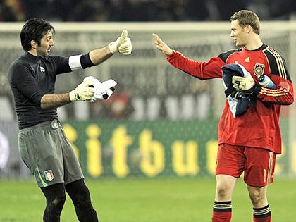 Buffon vs. Neuer: Cuộc đối đầu của hai thế hệ