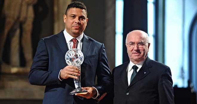 Ronaldo 'béo' được ghi tên vào Ngôi nhà huyền thoại của bóng đá Italy