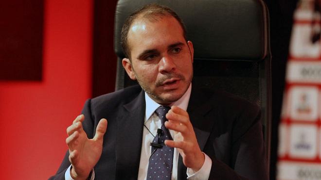 Thái tử Jordan muốn cuộc bầu cử FIFA diễn ra công bằng