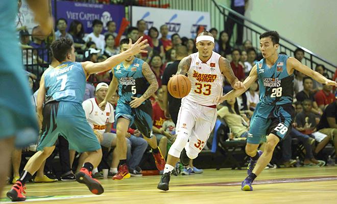 Malaysia Dragons 84–68 Sài Gòn Heat: Vắng trụ cột, Sài Gòn Heat thua đậm