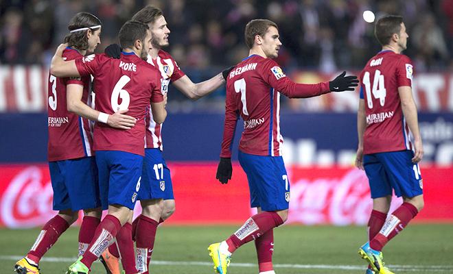 Atletico Madrid thắng Real Sociedad 3-0: Thày trò Simeone quyết đánh cối xay gió