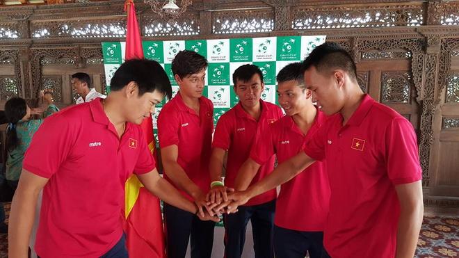 Tuyển quần vợt Việt Nam tự tin trước cuộc đối đầu Indonesia