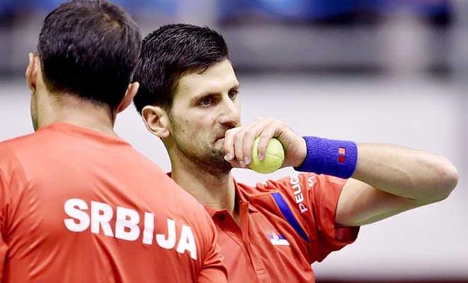 CẬP NHẬT vòng 1 Davis Cup: Serbia có nguy cơ bị loại, Italy, Pháp sớm đi tiếp