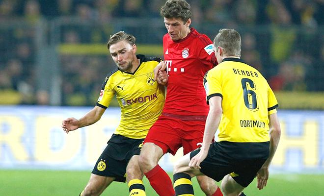 Bayern bị Dortmund cầm hòa 0-0: Nỗi buồn hàng công