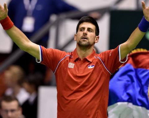 Davis Cup 2016: Murray, Djokovic dẫn dắt Anh và Serbia vào Tứ kết
