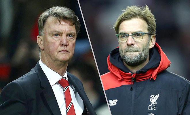 03h05 ngày 11/3, Liverpool - Man United: Van Gaal luôn bắt thóp Klopp