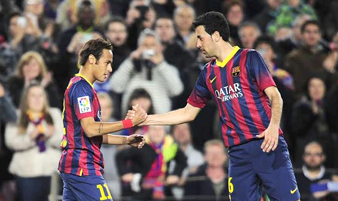 Barca phải 'trói' Neymar và Busquets