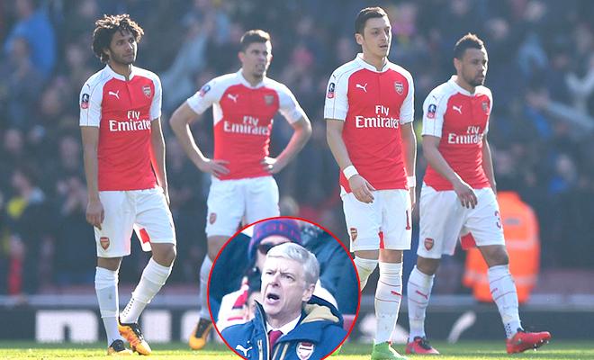 Wenger không còn gì để biện minh?