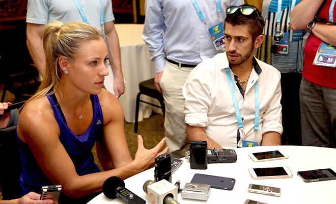 2016 BNP Paribas Open: Kerber và gánh nặng từ sự kỳ vọng