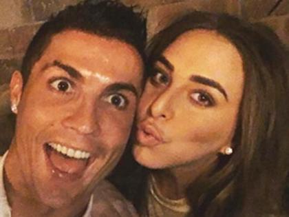 Ronaldo hẹn hò ái nữ kém sắc của tỷ phú Anh
