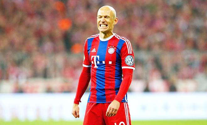 Guardiola chưa chắc sử dụng Arjen Robben