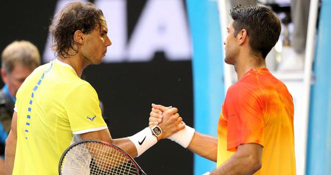Nadal khen Verdasco chơi tốt hơn mình
