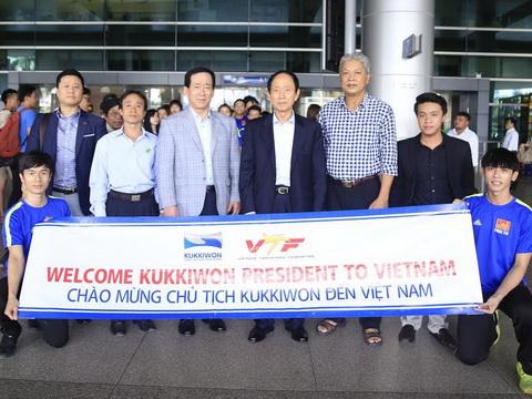 Chủ tịch Viện Hàn lâm taekwondo thế giới đến Việt Nam