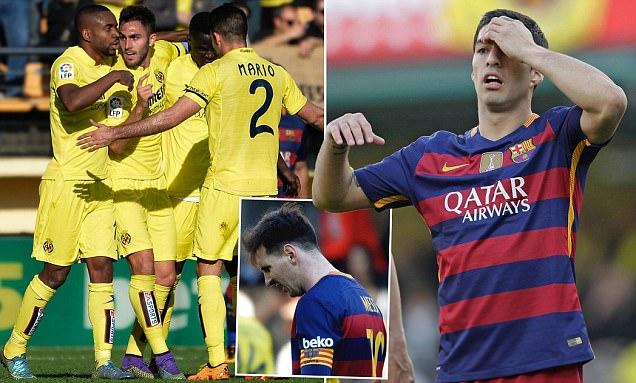Với Barca, hòa Villarreal giống như một trận thua