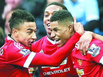 Lingard, Martial và Rashford: Những chàng ngự lâm mới của Man United