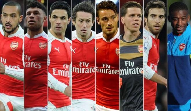 Điểm mặt 8 cầu thủ Arsenal cần đẩy đi trong mùa Hè này