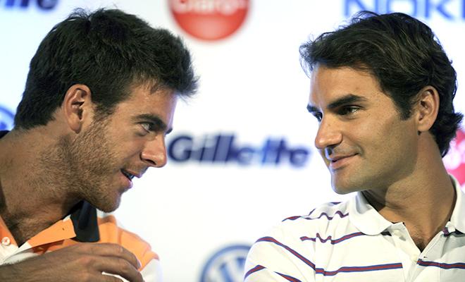 Federer chạm trán Del Potro ở vòng hai Miami Open: Sự trở lại của một trận 'Kinh điển'