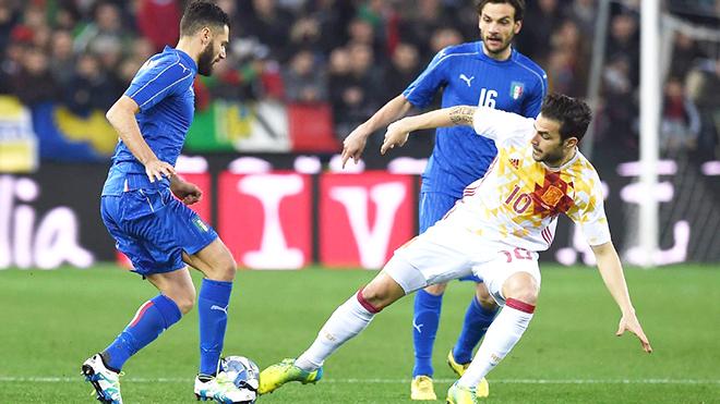 Italy hòa Tây Ban Nha 1-1: Del Bosque có cớ để sợ hãi