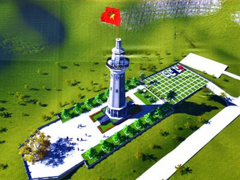 Xây dựng Cột cờ Lũng Pô – Nơi con sông Hồng chảy vào đất Việt