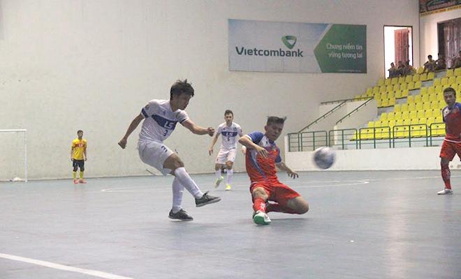'Cơn địa chấn' từ Thái Sơn Nam tại giải  futsal vô địch quốc gia