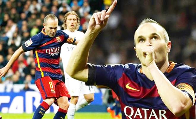 Barca: Iniesta là huyền thoại của 'Kinh điển'