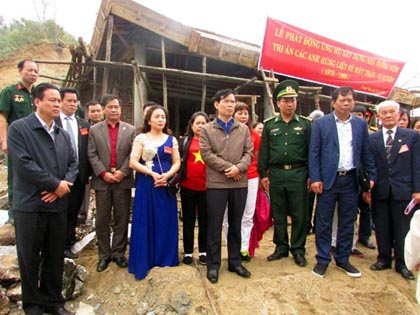 Xây dựng Nhà tưởng niệm tri ân các anh hùng liệt sỹ mặt trận Vị Xuyên - Hà Giang